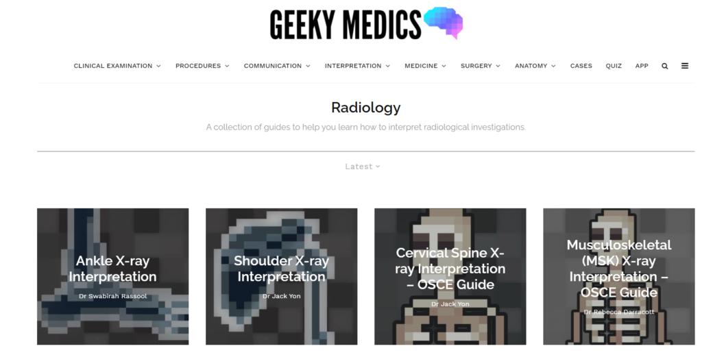 Geeky Medics Interpretation Tutorials